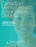 CMHA Ontario 2013 Annual Report cover