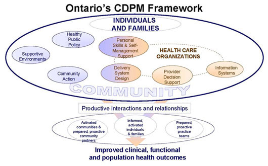 Ontario's Chronic Disease Prevention and Management Framework Image