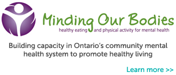 Footer Highlight - Minding Our Bodies: Healthy Eating and Physical Activity for Mental Health.