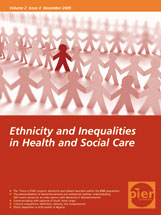 Ethnicity and Inequalities in Health and Social Care Cover