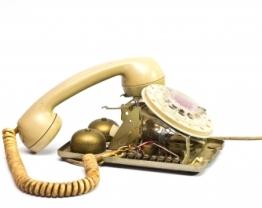 Image of old phone courtesy of markuso / FreeDigitalPhotos.net