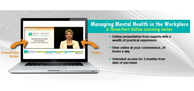 Highlight: Managing Mental Health in the Workplace: A Three-Part Online Learning Series