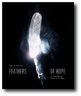 Feathers of Hope report cover. Linked to report . Link will open in a new window.