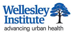 Image of Wellesley Institute logo. Links to Wellesley Institute website.