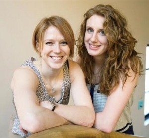 Image of Samantha DeLenardo and Krista Van Slingerland