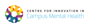Logo for Centre for Innovation for Campus Mental Health. Linked to website. Link will open in a new window.