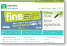 Mental Health Week Website Screenshot