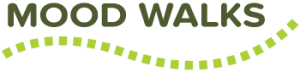 Mood Walks logo. Linked to Mood Walks website