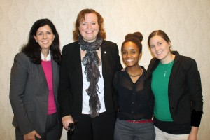 From left to right: CMHA Ontario CEO Camille Quenneville, Ontario Minister of Children and Youth Tracy,