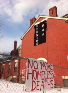 No More homesless deaths image