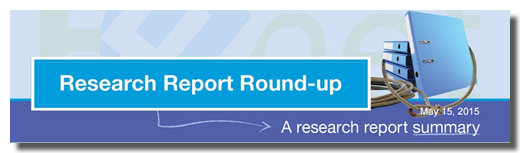 Image of Research Report Round-up
