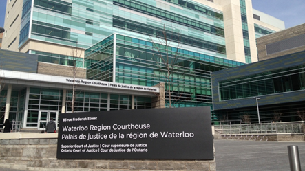 Waterloo Region Courthouse