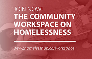 Join Now!  The Community Workspace on Homelessness