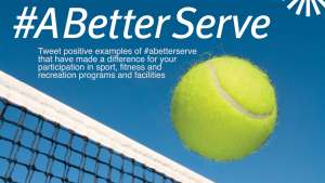 Tweet positive examples of #abetterserve