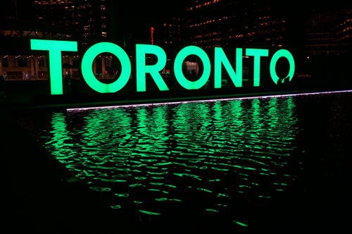 toronto sign web and social