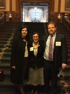 CMHA Ontario CEO Camille Quenneville, CMHA York and South Simcoe CEO Rebecca Shields and CMHA Peel CEO David Smith advised the committee that the future of mental health care services under Bill 41.
