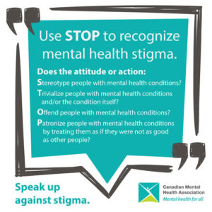Stigma And Discrimination Cmha Ontario