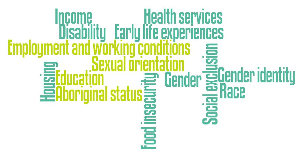 Social Determinants Of Health Cmha Ontario