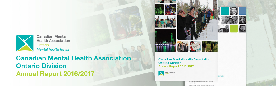 CMHA Ontario 2016/2017 Annual Report now available