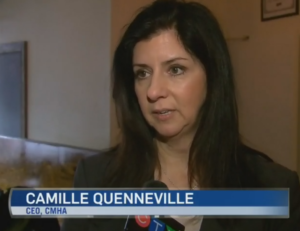 CMHA Ontario CEO Camille Quenneville speaks with CTV
