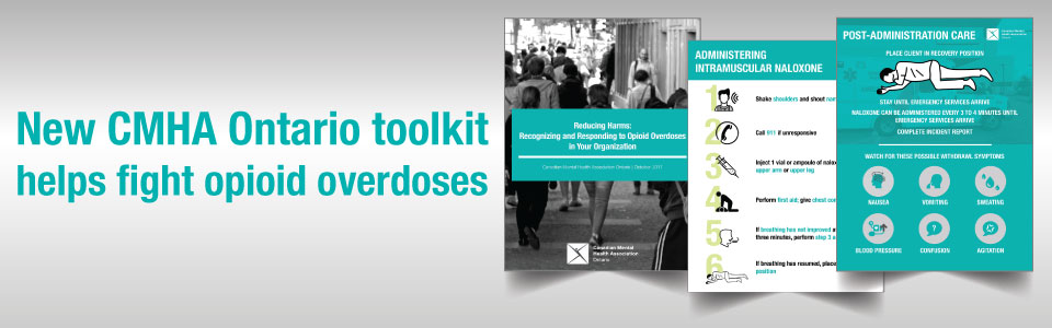 New toolkit helps to fight opioid overdoses; Advocacy group, Toronto bar first to use it