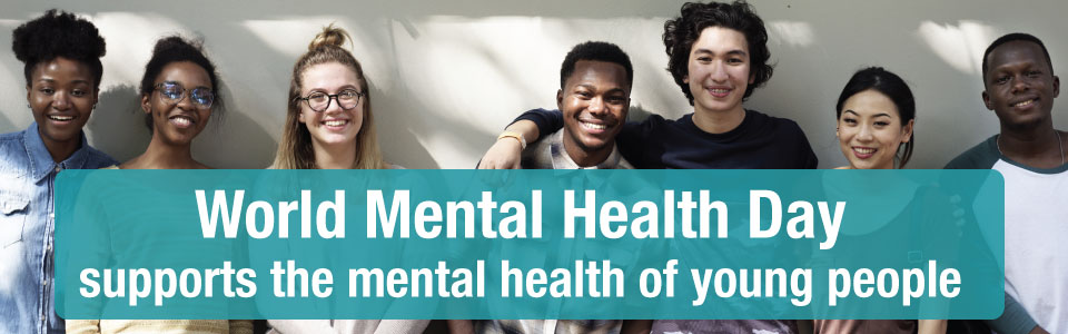 World Mental Health Day recognizes the mental health of young people
