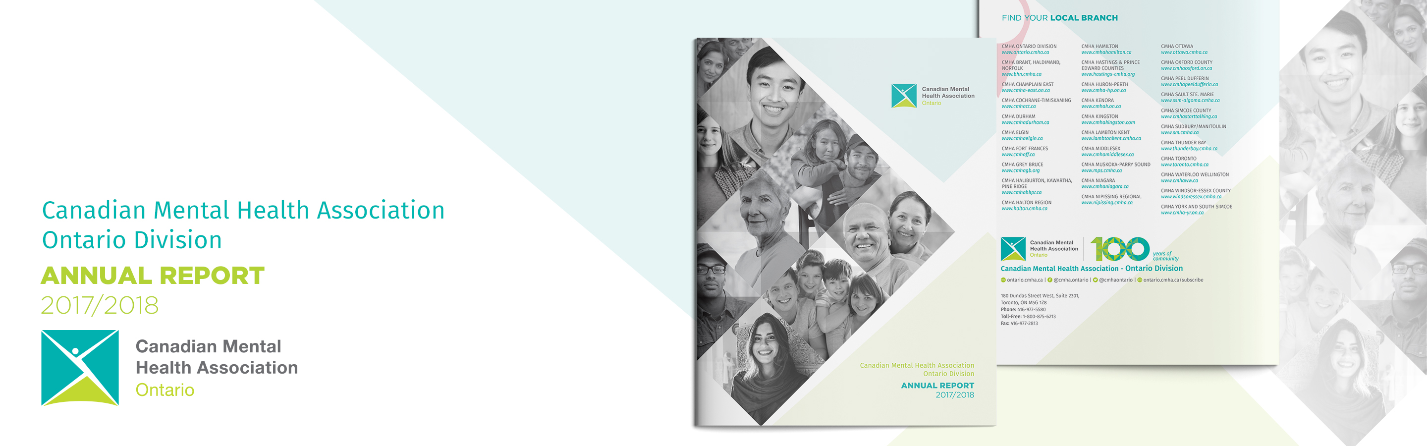 CMHA Ontario 2017/2018 Annual Report now available