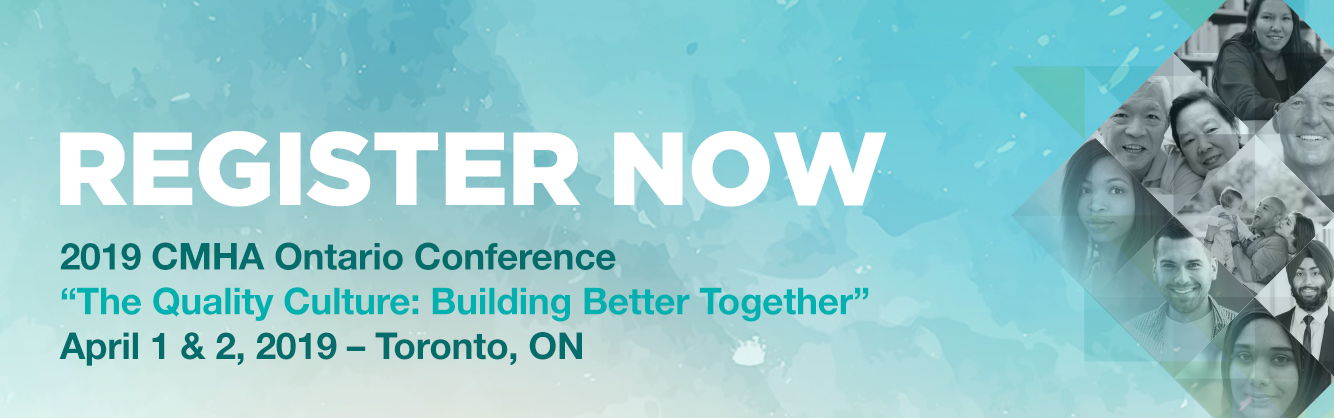Quality improvement focus of CMHA Ontario 2019 conference