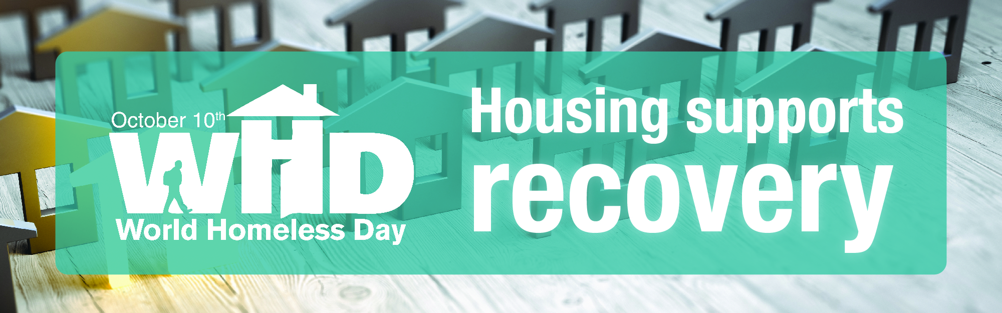World Homeless Day highlights the importance of supportive housing