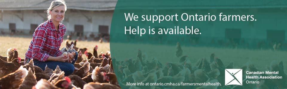Raising mental health awareness for farmers