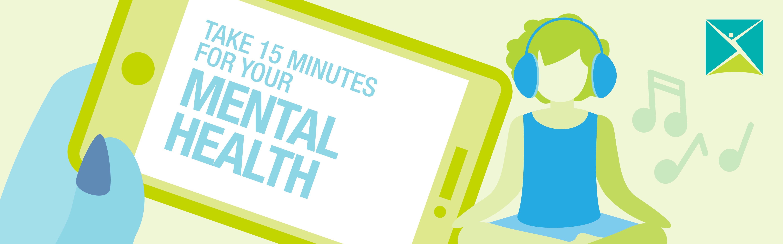 Take 15 minutes <em>just for you</em>
