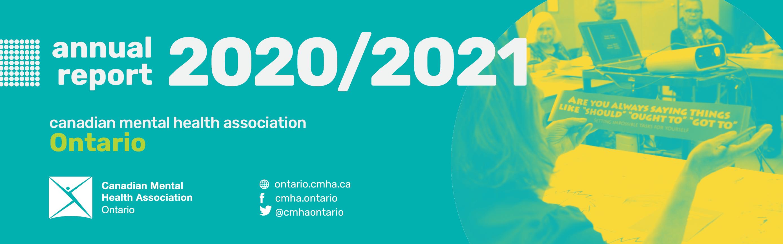 CMHA Ontario releases 2020-21 annual report